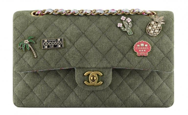 Chanel-Cuba-Khaki-Quilted-Toile-Bag-770x473